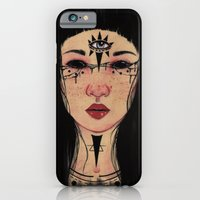 iPhone & iPod Case featuring Happy Halloween by The White Deer