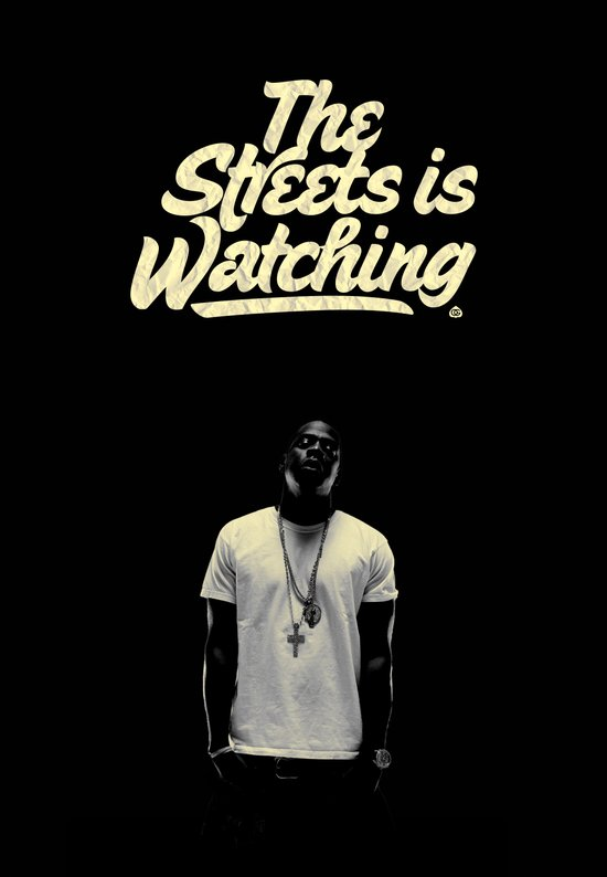 The Streets is Watching Art Print