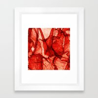 Poppy Veildance Framed Art Print