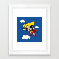 The Day Is Saved Framed Art Print