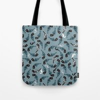 The Smoking Gun Tote Bag