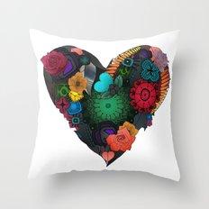 Gobblynne Heart Throw Pillow