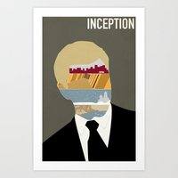 Inception Minimalist Pos… Art Print