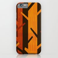 Retro Fall Woods by Friztin iPhone 6 Slim Case