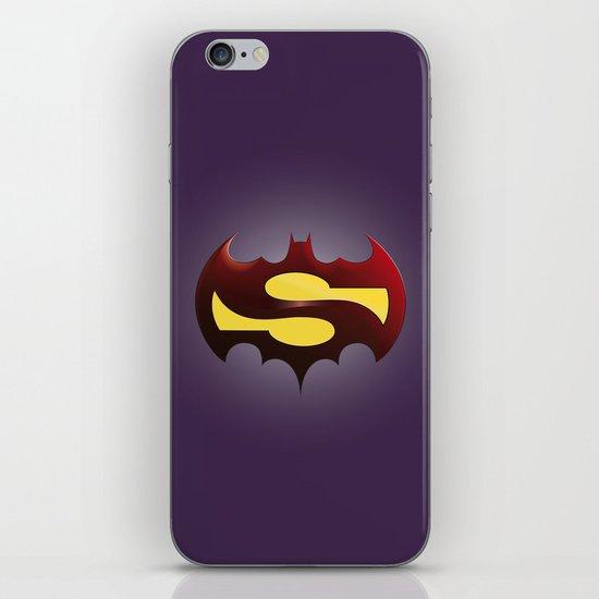 SuperBat-man iPhone & iPod Skin