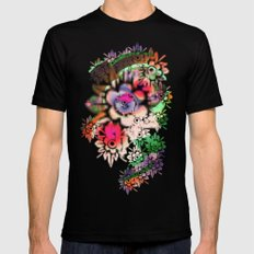 Funky Black SMALL Mens Fitted Tee