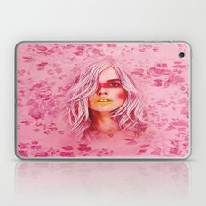 Girl with pink hair Laptop & iPad Skin