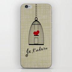 Je t'adore iPhone & iPod Skin