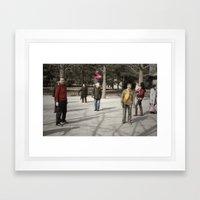 Jianzi Framed Art Print