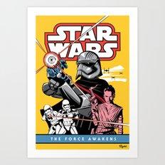 The Force Awakens Art Print