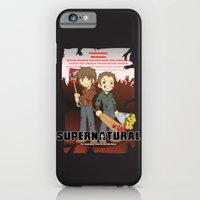 iPhone & iPod Case featuring Supernatural - Goin to the Winchesters by CaptainLaserBeam