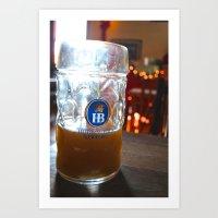Drink Like A German Art Print
