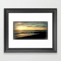 Sunrise in Tasmania Framed Art Print
