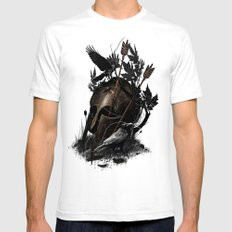 Legends Fall SMALL White Mens Fitted Tee