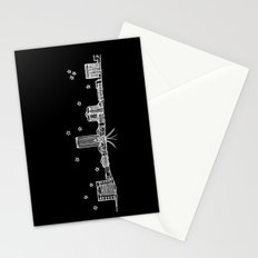 Tallahassee, Florida City Skyline Stationery Cards