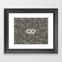 Infinite Monkey Theorem Framed Art Print