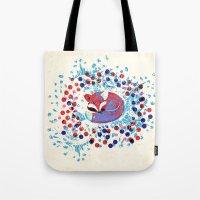 Berry fox - nostalgic Tote Bag