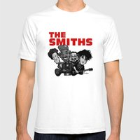 The Smiths (white version) Mens Fitted Tee White SMALL