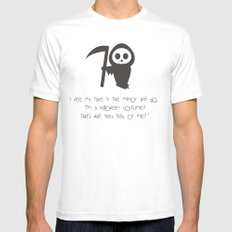 halloween Mens Fitted Tee SMALL White
