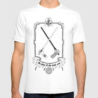 The Force! Mens Fitted Tee White SMALL