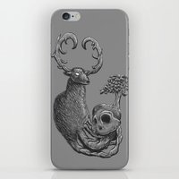 Nature Life Cycle BW iPhone & iPod Skin