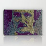Edgar Allan Poe. Laptop & iPad Skin