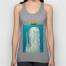 The Whale - Square Forma… Unisex Tank Top