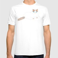 Ragdoll Cat Mens Fitted Tee White SMALL