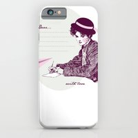 iPhone & iPod Case featuring Lady Jane by iamtanya