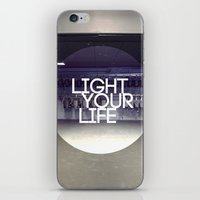 Light Your Life iPhone & iPod Skin
