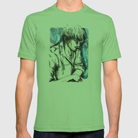 Boy Mens Fitted Tee Grass SMALL