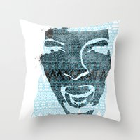 in the face of madness Throw Pillow