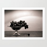 Graped, left to die Art Print