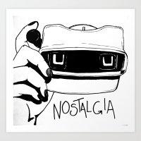 Nostalgia Art Print