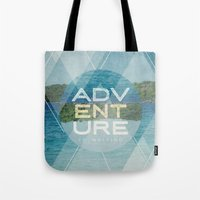 Adventure Is Waiting Tote Bag