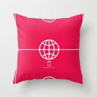 Universal Platform (Outl… Throw Pillow