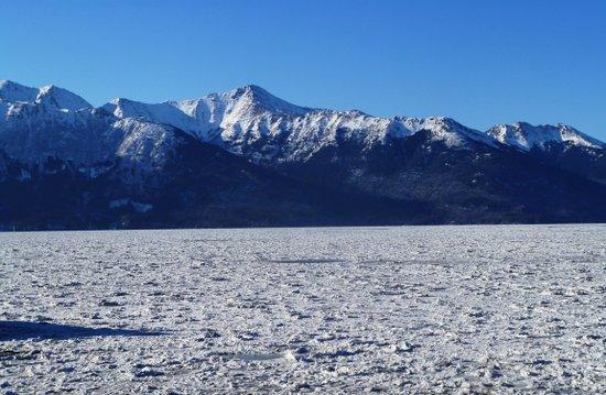 Frozen Alaska Art Print