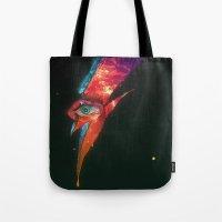 BLACK GLAM TEAR Tote Bag