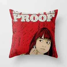 D.P.#02 Throw Pillow