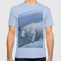 Winter(goat Snow) Mens Fitted Tee Athletic Blue SMALL