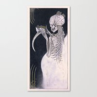 Black Death Canvas Print