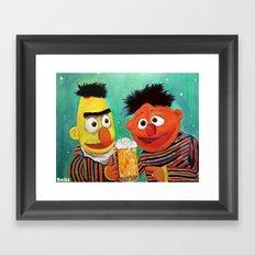 Hoppy Holidays Framed Art Print