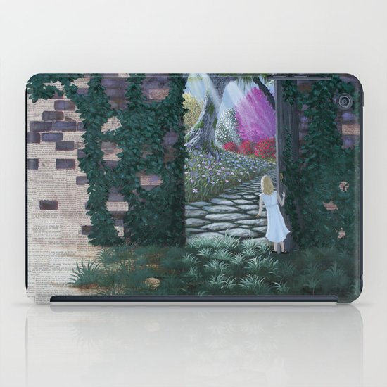 the secret garden iPad Case