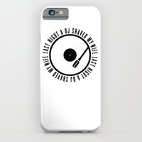 iPhone & iPod Case featuring A DJ shaved my wife by WAMTEES