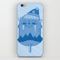 King of Mountain iPhone & iPod Skin