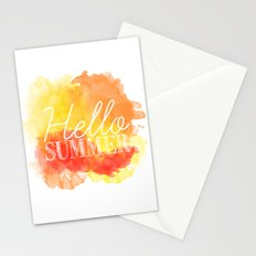 Hello Summer; Stationery Cards