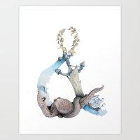 Ocean Memories Art Print