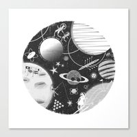 SPACE & SPORT Canvas Print