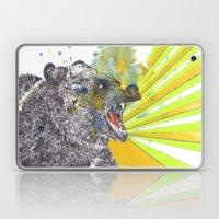 Roaring Bear Animal Wate… Laptop & iPad Skin
