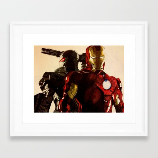 Iron Man 3 Framed Art Print